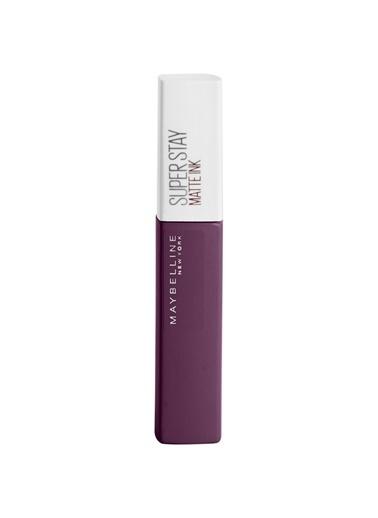 Maybelline Maybelline New York Super Stay Matte Ink City Edition Likit Mat Ruj - 110 Originator Mürdüm